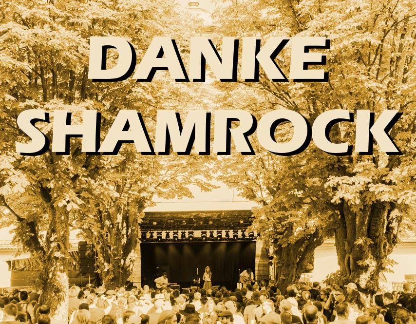 Danke Shamrock!